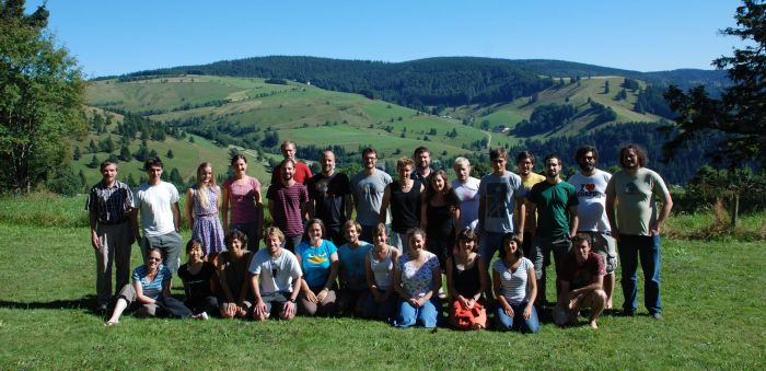 Group picture from the course in Freiburg 2013