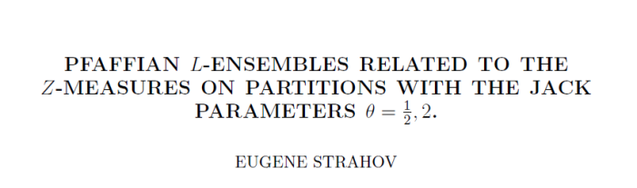 This is not the standard in ecology ;) - from http://arxiv.org/abs/1011.2084v1